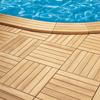 Combien co te l 39 quipement d 39 une piscine for Carrelage imitation caillebotis