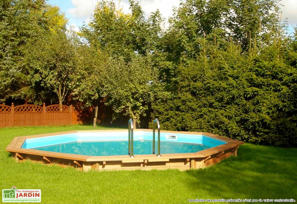 Piscine ronde semi enterr e prix for Piscine en bois semi enterree prix